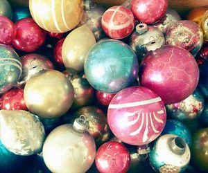christmas, ornaments, and winter image