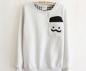 cute, style, and sweater image