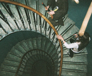 grunge, stairs, and cool image