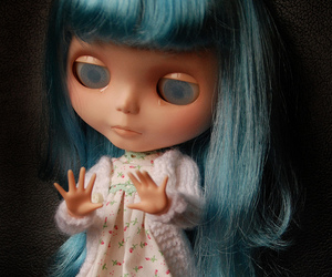 account, blythe doll, and custom image