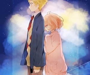 anime, kyoukai no kanata, and manga image