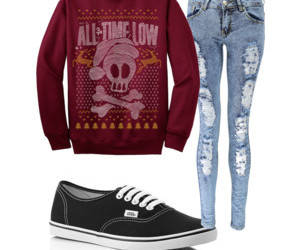 all time low, sweater, and cute image