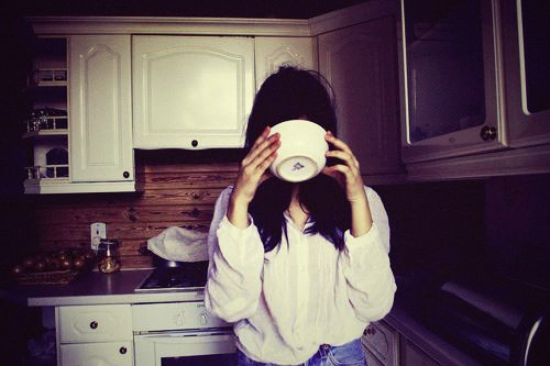 girl, kitchen, and soup image