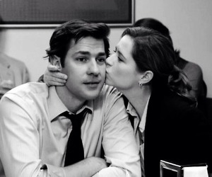jim and pam and otp image