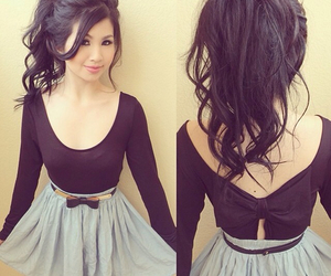 girl, dress, and outfit image