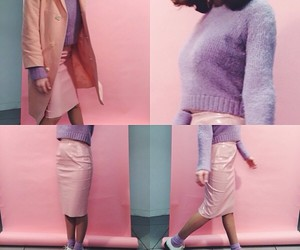 fashion, lavender, and pink image