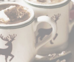 christmas, header, and hot ​chocolate image