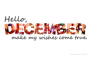 december, hello december, and welcome december image