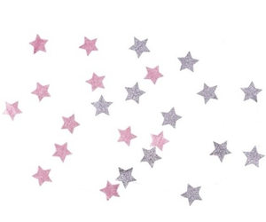 stars, overlay, and pink image
