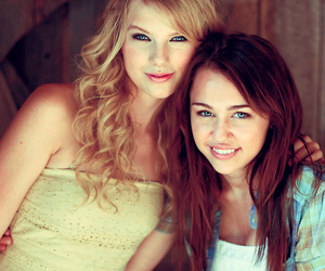 Taylor Swift, miley cyrus, and miley image