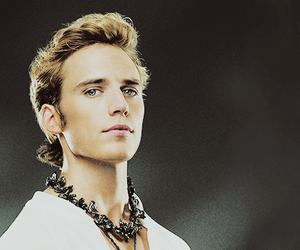 finnick odair, catching fire, and the hunger games image