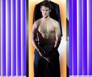 american psycho, matt smith, and doctor who image