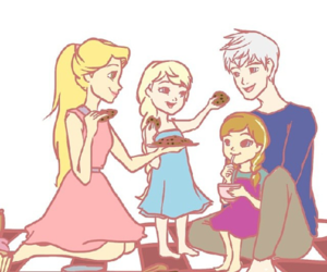 anna, rotg, and frozen image