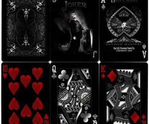 bicycle, playing cards, and deck image