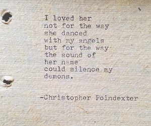love, quote, and demon image
