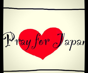 japan and pray for japan image