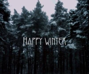 winter, snow, and happy image
