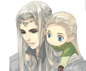 Legolas, lord of the rings, and thranduil image