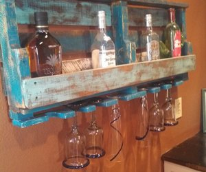 pallet wine rack image