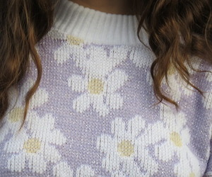 sweater, pale, and pastel image