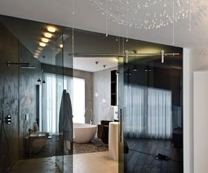 bedroom, bathroom, and luxury image