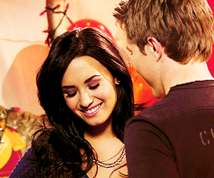 demi lovato, cute, and sonny with a chance image