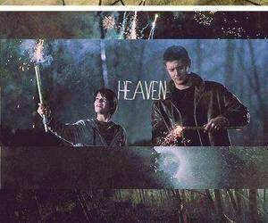 supernatural, dean winchester, and heaven image
