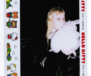 Claire, grimes, and hello kitty image