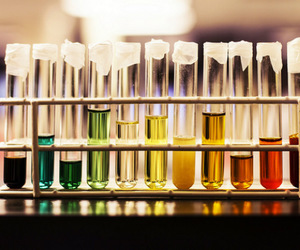 chemistry, colorful, and glass image
