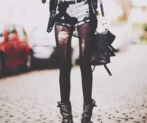 fashion, punk, and black image