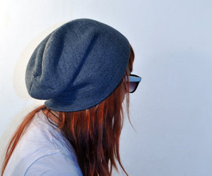 beanie, long hair, and photography image