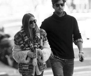 couple, olivia palermo, and fashion image