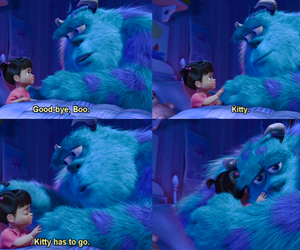 boo, kitty, and monsters inc image