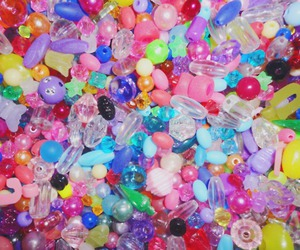beads, colorful, and photography image