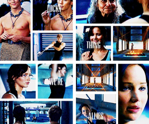 mags, hunger games, and katniss everdeen image