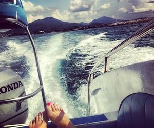 sea, luxury, and summer image