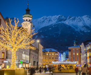 austria, christmas, and nature image