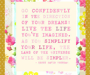 quote, life, and dreams image