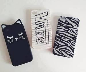 vans, cat, and case image