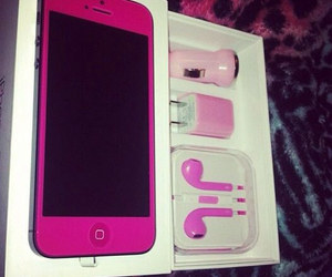 pink, iphone, and cool image