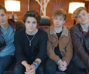 brad, tristan, and thevamps image