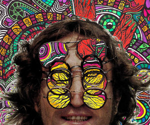 john lennon, lennon, and psychedelic image