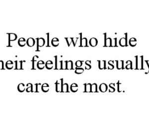 quote, care, and feelings image