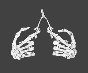 bones, hands, and skeleton image