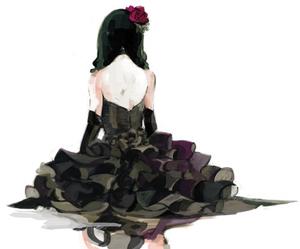 dress and anime image