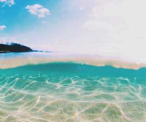 sea, summer, and water image