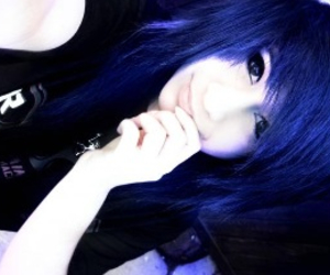 blue, bored, and emo image