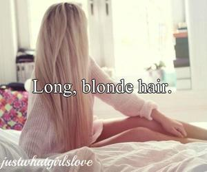 bed, blonde, and hair image