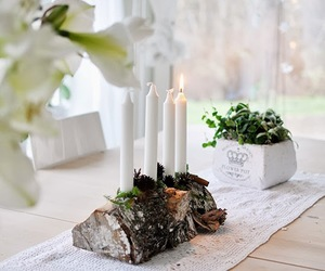 candle, lights, and white image