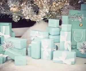tiffany, christmas, and present image